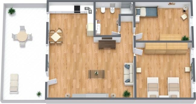 Planimétrie Appartement N.295