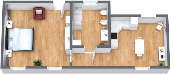 Planimétrie Appartement N.273