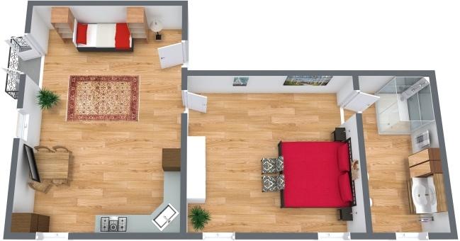 Planimétrie Appartement N.277