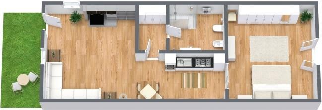 Planimétrie Appartement N.281