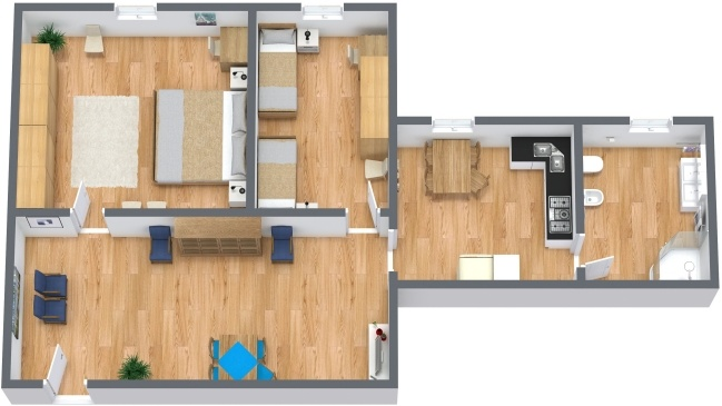 Planimétrie Appartement N.283
