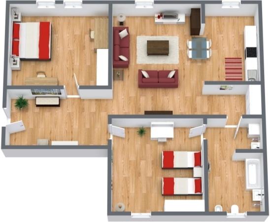 Planimétrie Appartement N.285