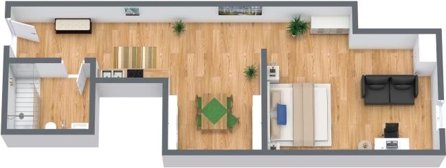 Planimétrie Appartement N.286