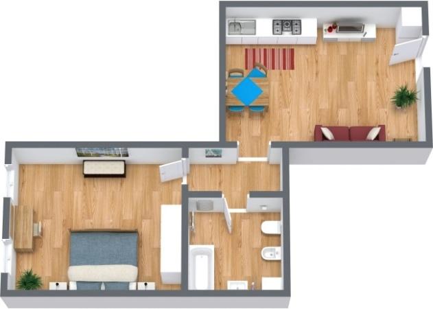 Planimétrie Appartement N.290