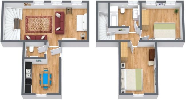 Planimétrie Appartement N.294