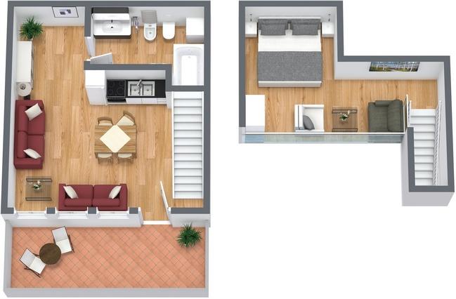 Planimétrie Appartement N.3