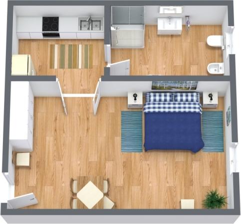 Planimétrie Appartement N.301