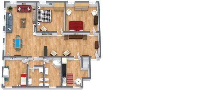 Planimétrie Appartement N.304