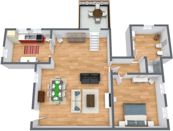 Planimétrie Appartement N.305