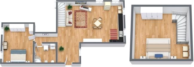 Planimétrie Appartement N.309