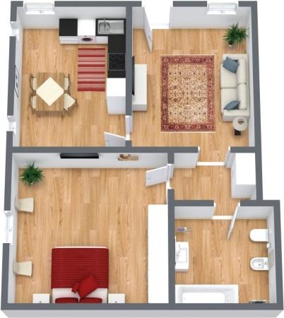 Planimétrie Appartement N.315