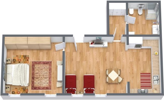 Planimétrie Appartement N.318