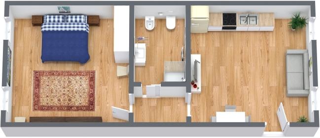 Planimétrie Appartement N.326