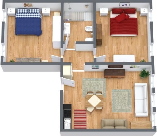 Planimétrie Appartement N.327