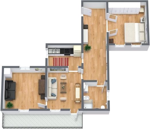 Planimétrie Appartement N.331