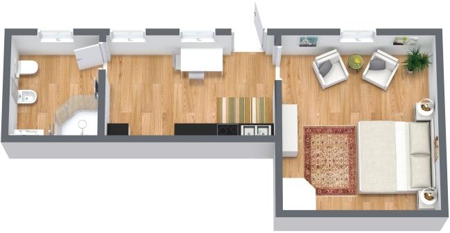 Planimétrie Appartement N.332