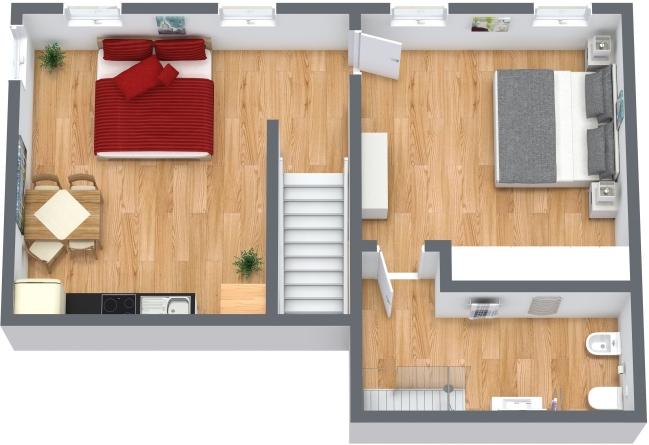 Planimétrie Appartement N.336