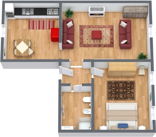 Planimétrie Appartement N.337