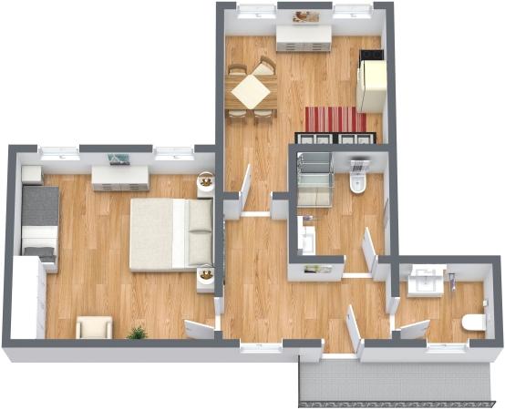 Planimétrie Appartement N.348
