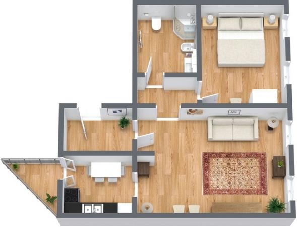Planimétrie Appartement N.353