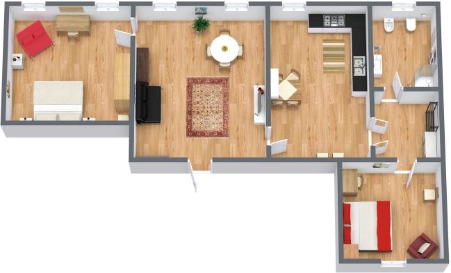 Planimétrie Appartement N.41
