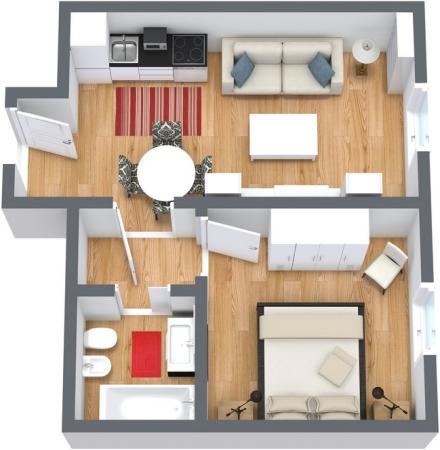 Planimétrie Appartement N.61