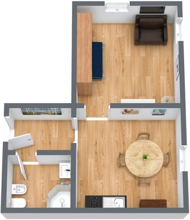Planimétrie Appartement N.69