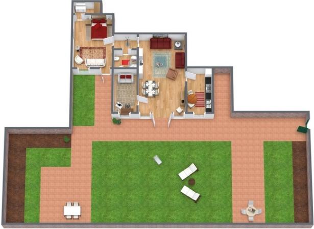Planimétrie Appartement N.74