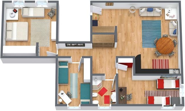 Planimétrie Appartement N.94