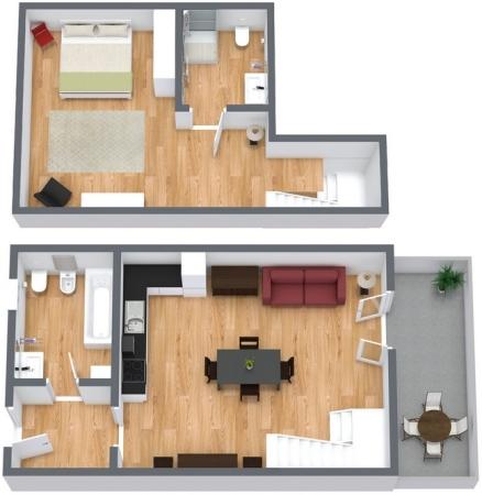 Planimétrie Appartement N.96