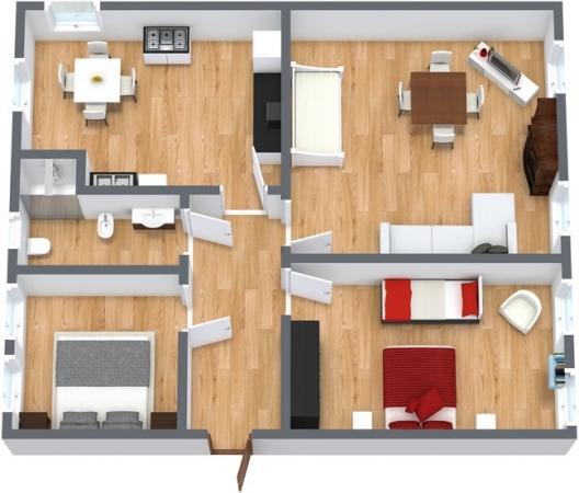 Planimétrie Appartement N.97