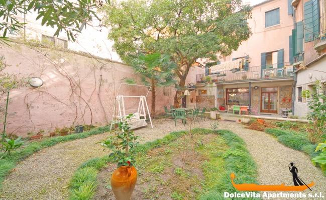Appartement louer venise avec jardin pour 4 louer for Appartement location jardin