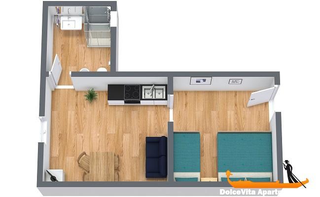 appartement venise pas cher cannaregio pour 5 louer appartement. Black Bedroom Furniture Sets. Home Design Ideas