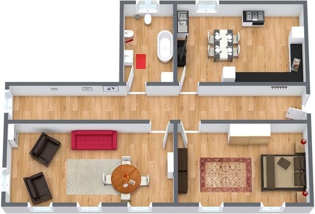 Planimétrie Appartement N.109