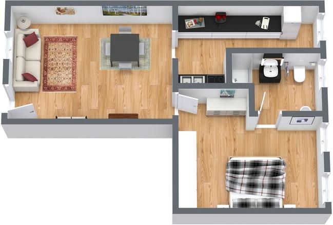 Planimétrie Appartement N.116