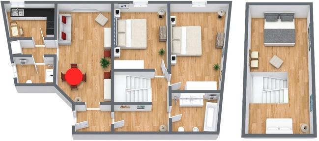 Planimétrie Appartement N.119