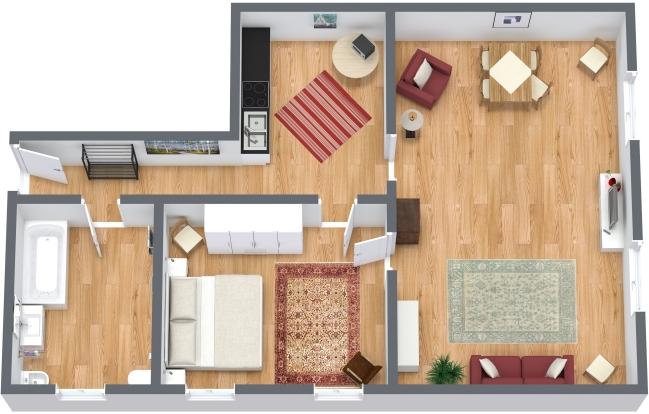 Planimétrie Appartement N.121