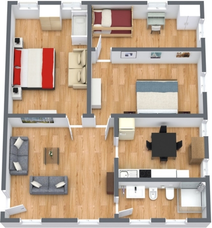 Planimétrie Appartement N.129