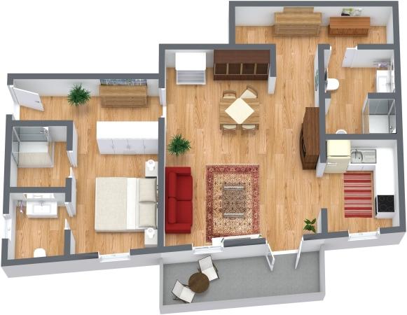 Planimétrie Appartement N.130