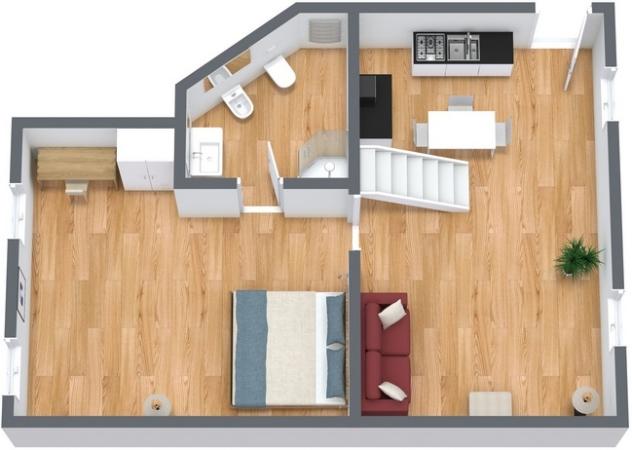 Planimétrie Appartement N.133