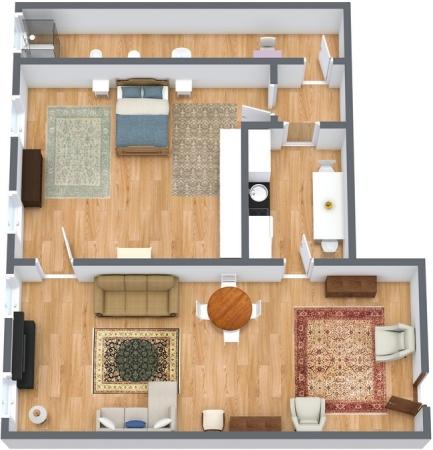 Planimétrie Appartement N.135