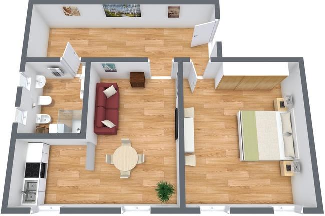 Planimétrie Appartement N.144