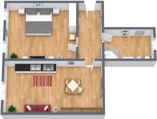 Planimétrie Appartement N.147