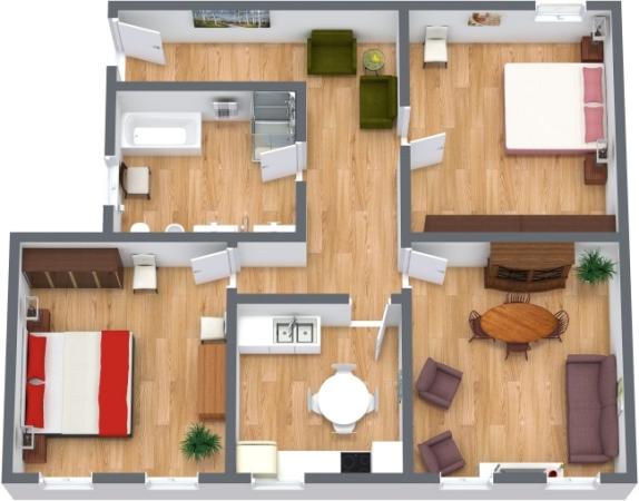 Planimétrie Appartement N.148