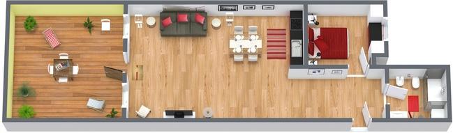 Planimétrie Appartement N.152