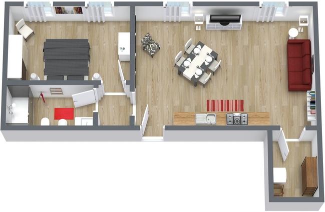 Planimétrie Appartement N.153