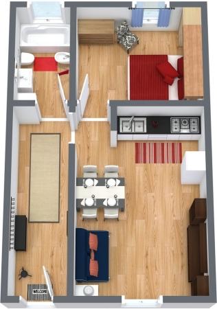 Planimétrie Appartement N.154