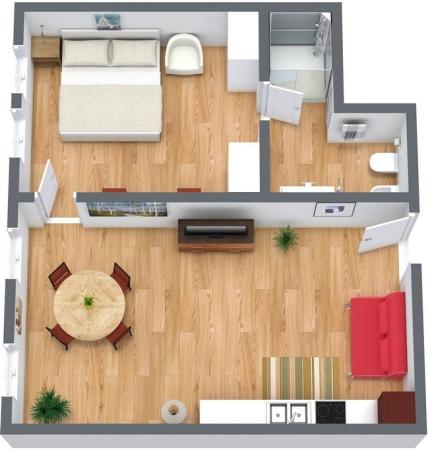 Planimétrie Appartement N.156
