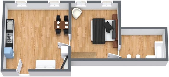 Planimétrie Appartement N.163