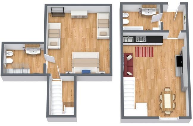 Planimétrie Appartement N.167